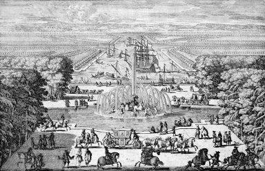 Versailles with Le Bassin d'Apollon