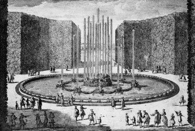 Versailles with Le Bassin de Saturne