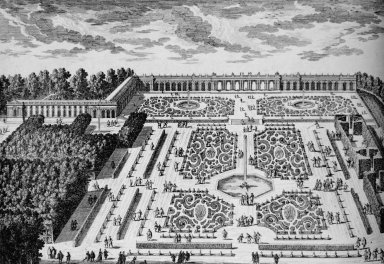 Versailles with the Grand Trianon Parterres