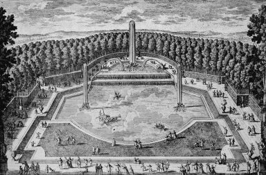 Versailles with the Grand Trianon, Le Bassin du Plat-Fond
