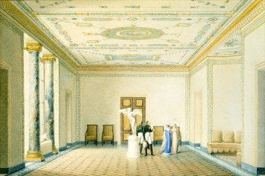 Interior of the Salon in the Grande Serre Chaude, Malmaison
