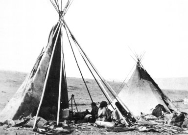 Crow Tipi in the Summer