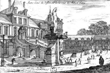 Fontainebleau: Cour du Cheval Blanc