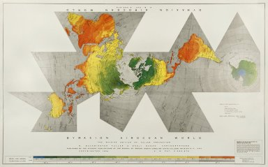 Dymaxion Airocean World Map