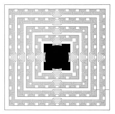 Vijayanagara: Geometric Tank