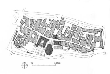 Site Plan of Pienza