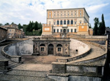 Villa Farnese at Caprarola