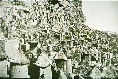 Rock or Masonry Dwellings of the Dogon Tribe of French Sudan