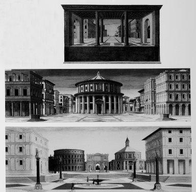 Ideal Town (Staatlichen Museen zu Berlin), Ideal Town (Galleria Nazionale delle Marche, Urbino), Ideal Town (Walters Art Gallery, Baltimore)
