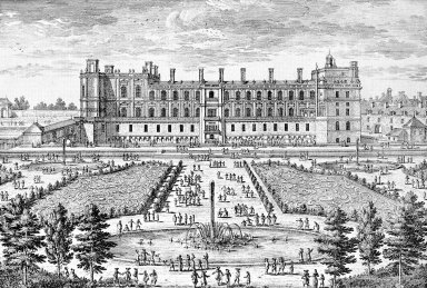 Saint Germain en Laye: the Parterre in Front of the Chateau