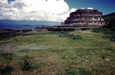 Calixtlahuaca: Temple of Quetzalcoatl