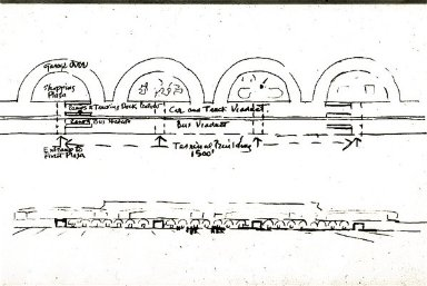 Graham Foundation Study for Viaduct Arch