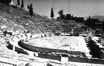 Theater of Dionysos Eleutherios (Dionysus)