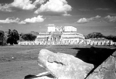 Chichen Itza: Temple of the Warriors