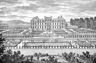 View of the Gardens at the Chateau de Sceaux