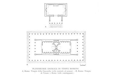 Irregular Roman Temple Plans