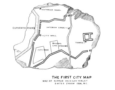 Map of Nippur (the First City Map)