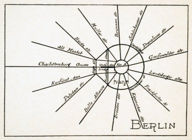 Theoretical Diagram of the Streets of Berlin
