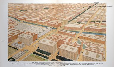 Chicago, Proposed Twelfth Street Boulevard at It's Intersections with Michigan Avenue and Ashland Avenue