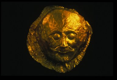Gold Death Mask