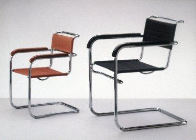 B34 Tubular Steel Chair