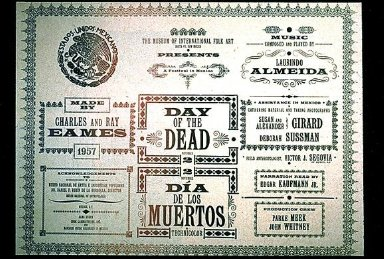 Day of the Dead, Title Panel