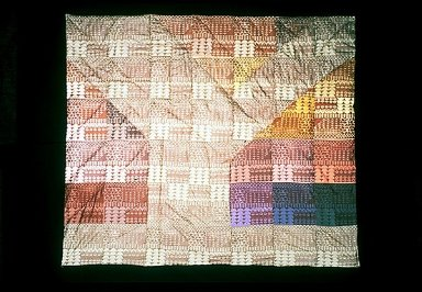 Geometric Screen Quilt