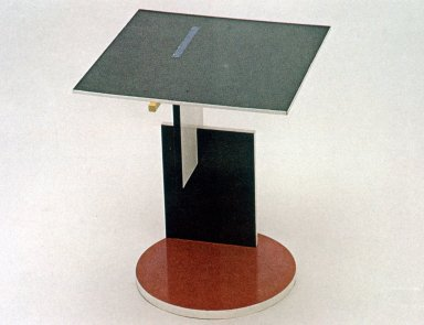 End Table Designed for the Schroder House
