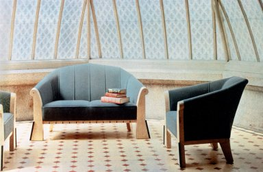Settee and Lounge Chair
