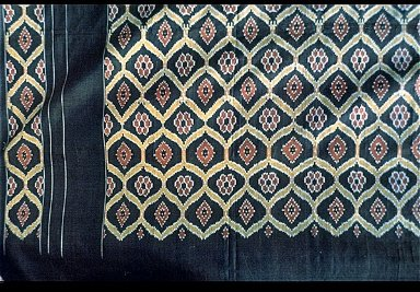 Weft Ikat Sari Cloth from Pichampalli