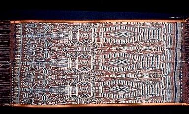 Warp Ikat Hangings of North Borneo