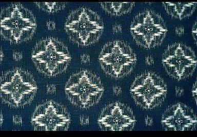 Kimono in Compound Ikat
