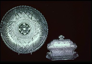 Pressed Lacy Glass