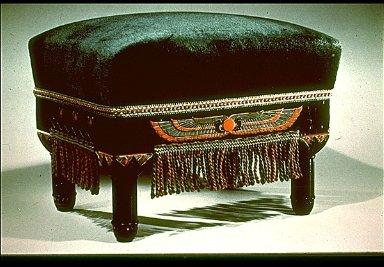 Egyptian Revival Footstool