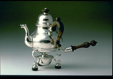 Teapot on Spirit Lamp and Stand