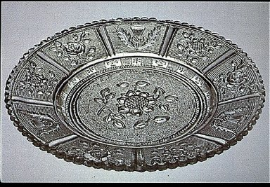 Lacy-Pattern Pressed Plate