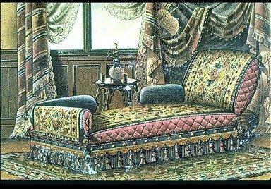 Turkish-style divan