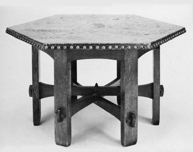 Hexagonal Library Table
