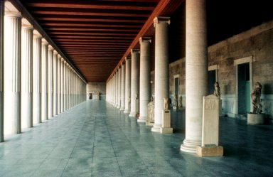 Agora: Stoa of Attalos II of Pergamon