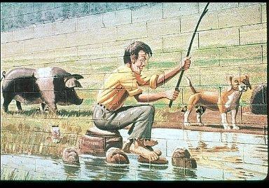 Great Pig Murals of the Farmer John Brand