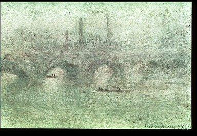 Waterloo Bridge (mist)
