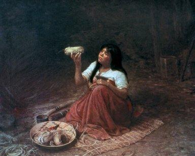 Indian Basket Weaver