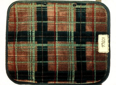 London Transport 'Plaid' Mocquette