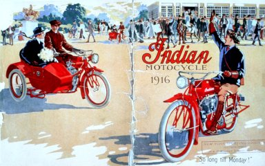Indian Motorcycle Book Cover