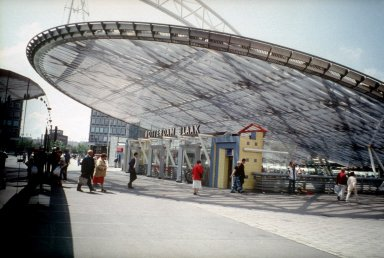Blaak Metro and NS Railway Station