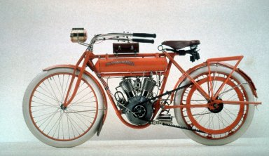 "Flying Merkel Model ""V"" Motorcycle"