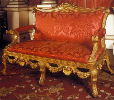 Settee, Houghton Hall