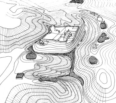 Diagrammatic Drawing of Jerusalem's Old City