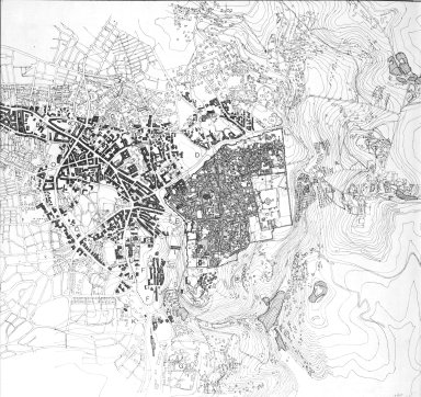 Map of the Central Area of Jerusalem