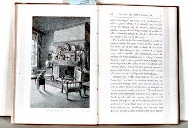 Period Interior Decoration Illustration